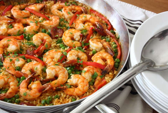 Food wishes video recipes sausage shrimp paella before you run when i first do a version of a classic dish like paella i try to use a minimum of number of ingredients and steps so we focus on the technique forumfinder Choice Image