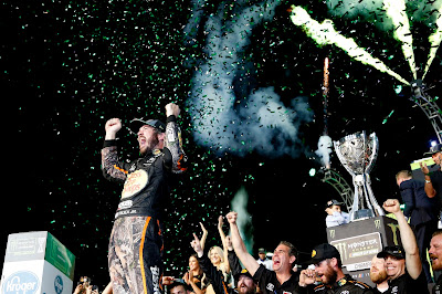 Truex and Toyota are #NASCAR Cup Champs