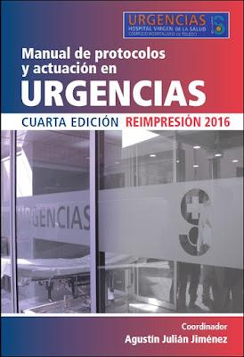 Manual de protocolos de actuación en urgencias edición 2016