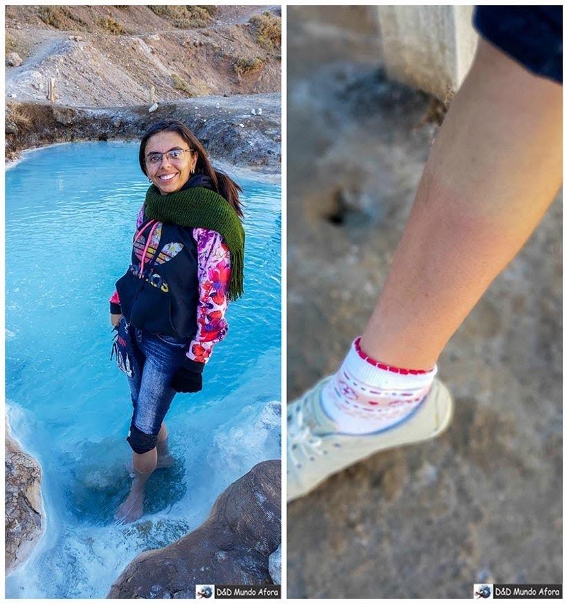 Queimando as canelas nas piscinas do Baños Colinas - Diário de Bordo Chile: 8 dias em Santiago e arredores