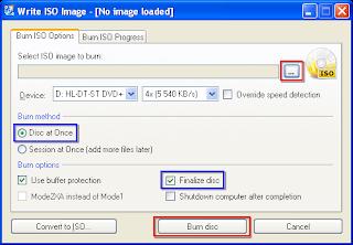 شرح برنامج CDBurnerXP لنسخ الاسطوانات
