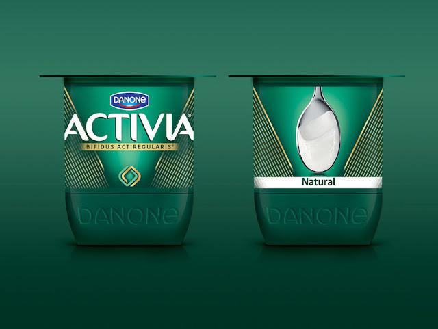 Yogur Activia presenta su nueva identidad por Futurebrand