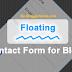 Cara Membuat Contact Form Melayang