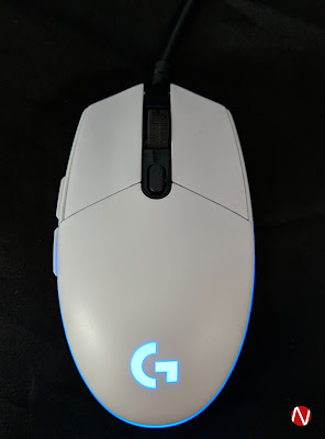 Review Logitech G102 Prodigy White