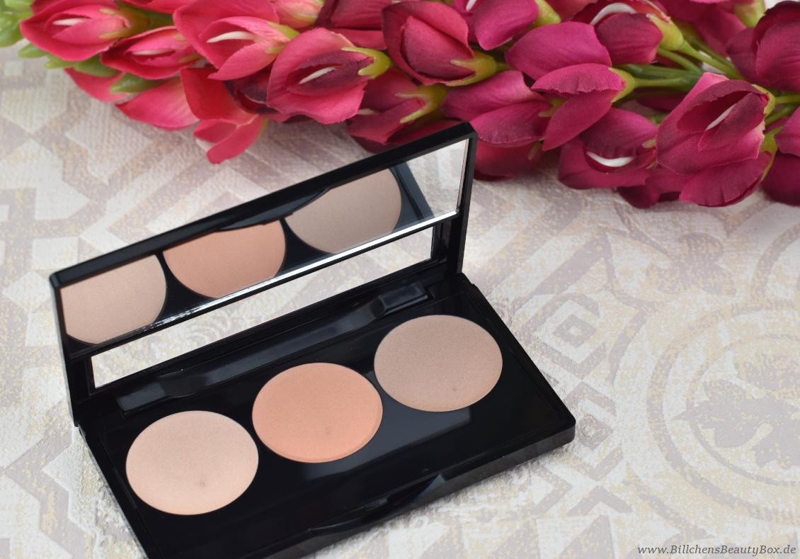 alverde Naturkosmetik - Make-Up Review Favoriten 2018 Highlighter Strobing Glow Palette