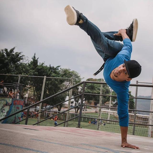 B.Boy Luizin leva Breaking para o Contém Cultura em Periquito, MG