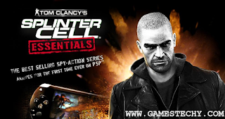 Download Splinter Cell Essential PSP CSO In Android