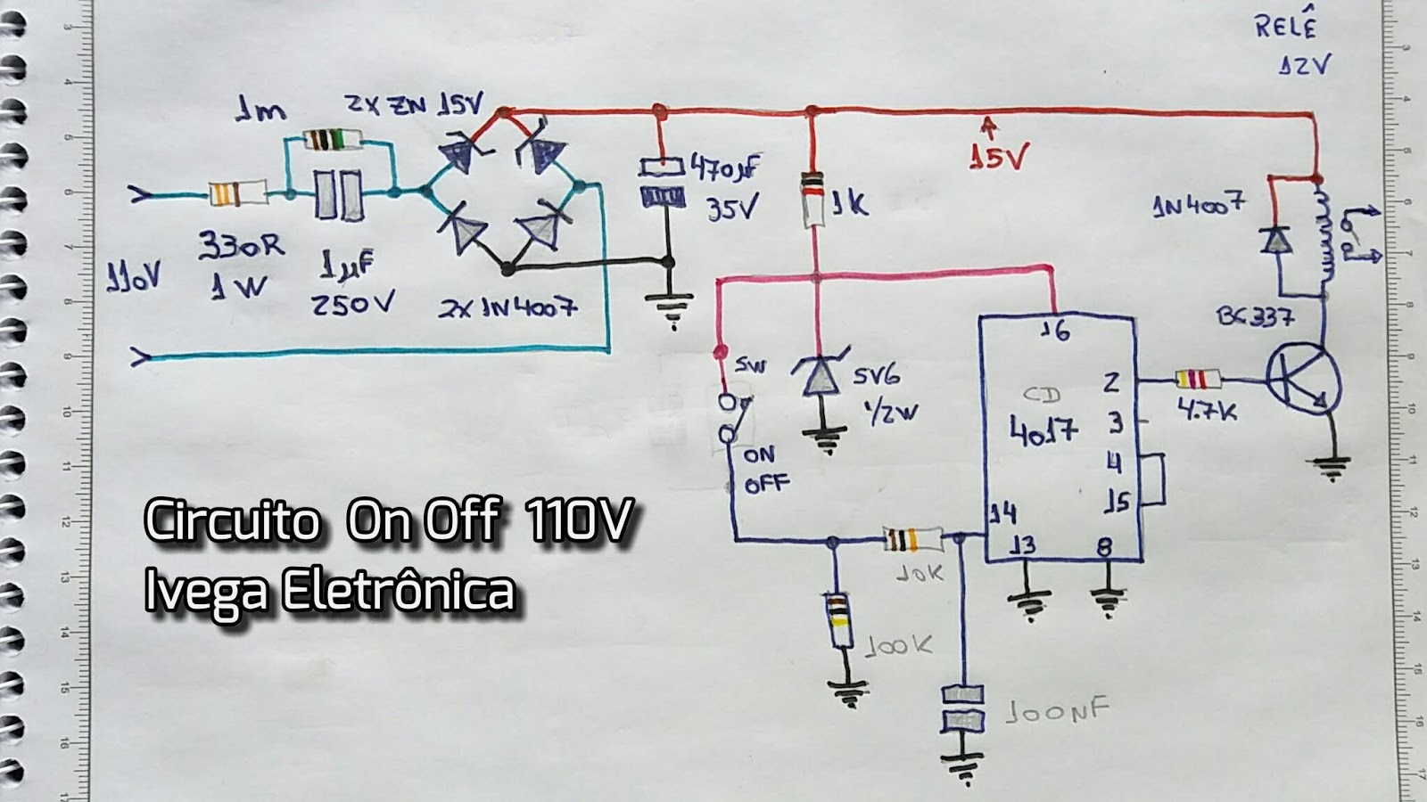 Circuito Eletronica : Ivega eletrônica