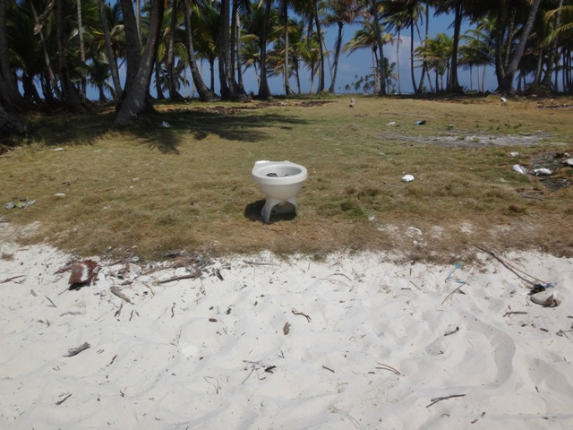 Baño público de Isla de las Estrellas en San Blas