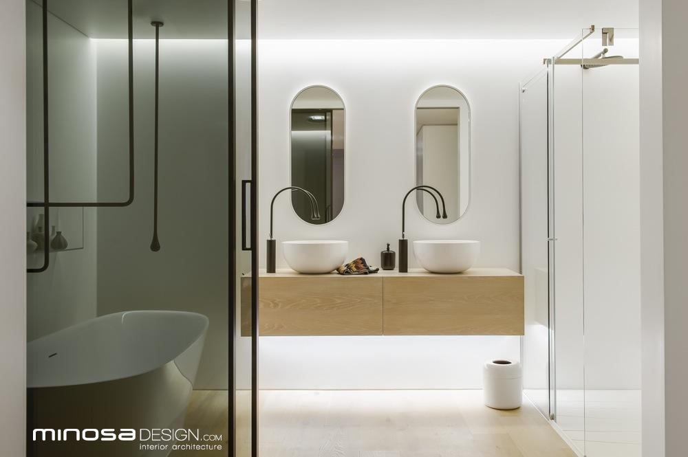 Minosa Clean Simple Lines Slick Bathroom Design By Minosa