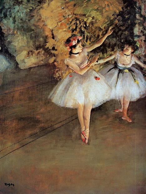 Flores Palabras Edgar Degas Bailarinas En El Escenario