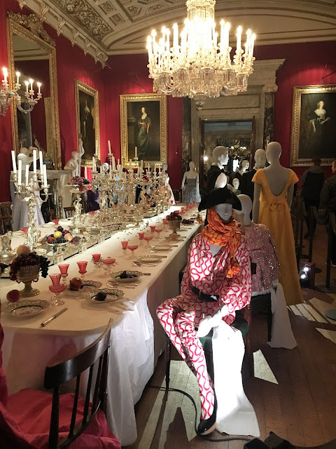 Dressing for Dinner Chatsworth House Style Exhibition #lbloggers #history #ChatsworthHouseStyle #Chatsworth