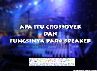 Apa itu Crossover dan fungsinya pada Speaker