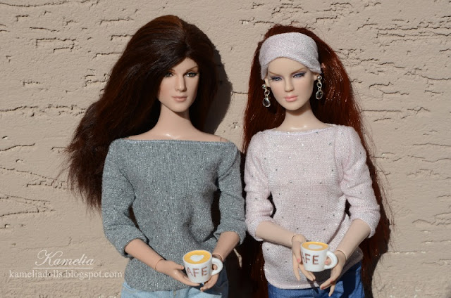 Handmade clothes for Tonner dolls