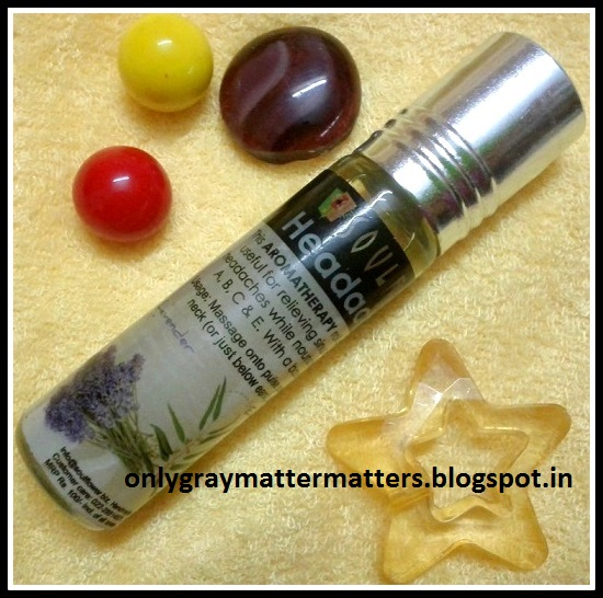 Soulflower Headache Relief Aromatherapy Roll-On Review