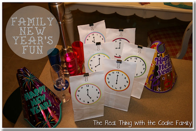 Fun idea for a Family New Year's Eve celebration that whole family will enjoy! #NewYear's #Family #Celebrate