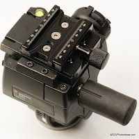Arca Compatible Conversion for Manfrotto 400 Geared Head by Hejnar PHOTO