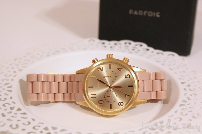 88972ecf33 Let's Talk About... Beauty: NEW IN | Parfois Rose (and) Gold watch