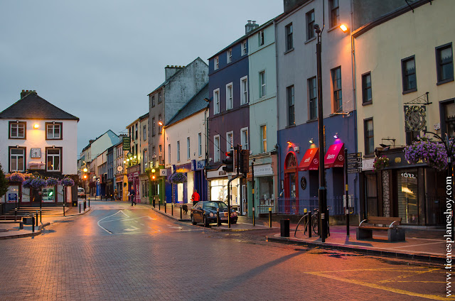 Noche en Kilkenny Irlanda