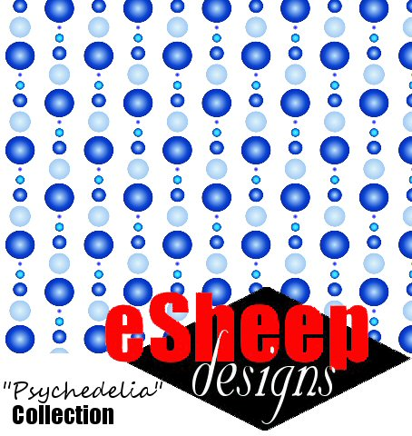 It's a 3D Dotty World fabric by eSheep Designs