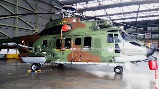 Helikopter Cougar TNI AU