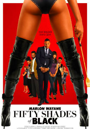 Poster of Fifty Shades Of Black Full English Movie Download HDCAM Watch Online