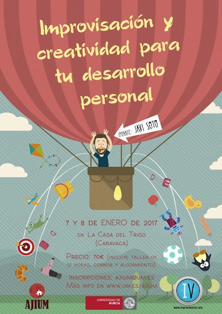Taller Improvivencia 2017: Improvisación y creatividad para tu desarrollo personal.