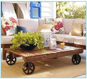 A mi manera amueblar la casa con tarimas de madera for Tarimas de madera para muebles