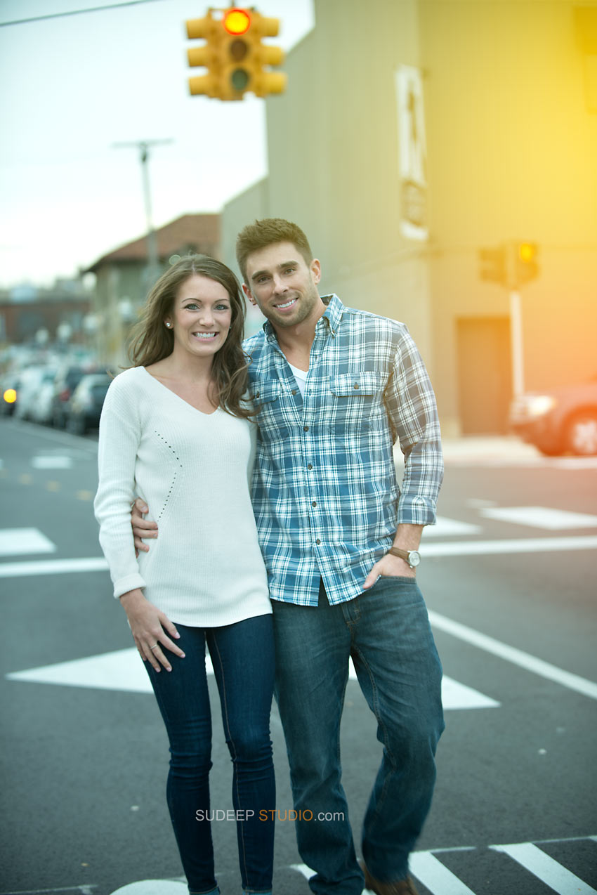 Best Sunset Engagement Photography Royal Oak Ferndale - Sudeep Studio.com Ann Arbor