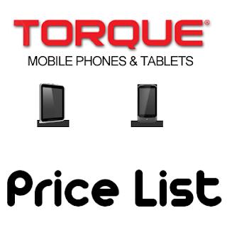 Torque Mobile Price List 2013