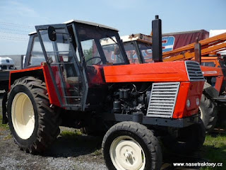 Zetor specification dimensions AGRIster