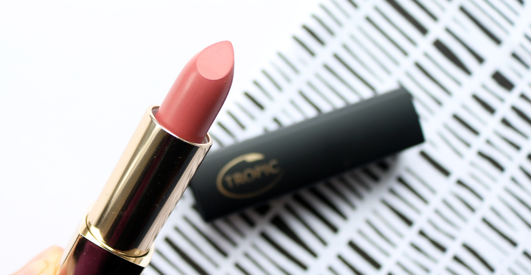 Tropic Colour Click Lipstick in Peach Perfect review