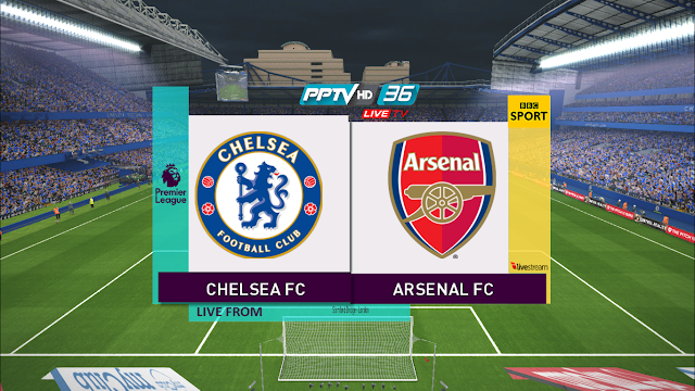 PES 2017 English Premier League Graphic Menu + ScoreBoard by NTJ
