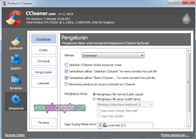 menjadikan ccleaner bahasa indonesia