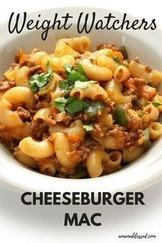 Weight Watchers Slow Cooker Cheeseburger Casserole