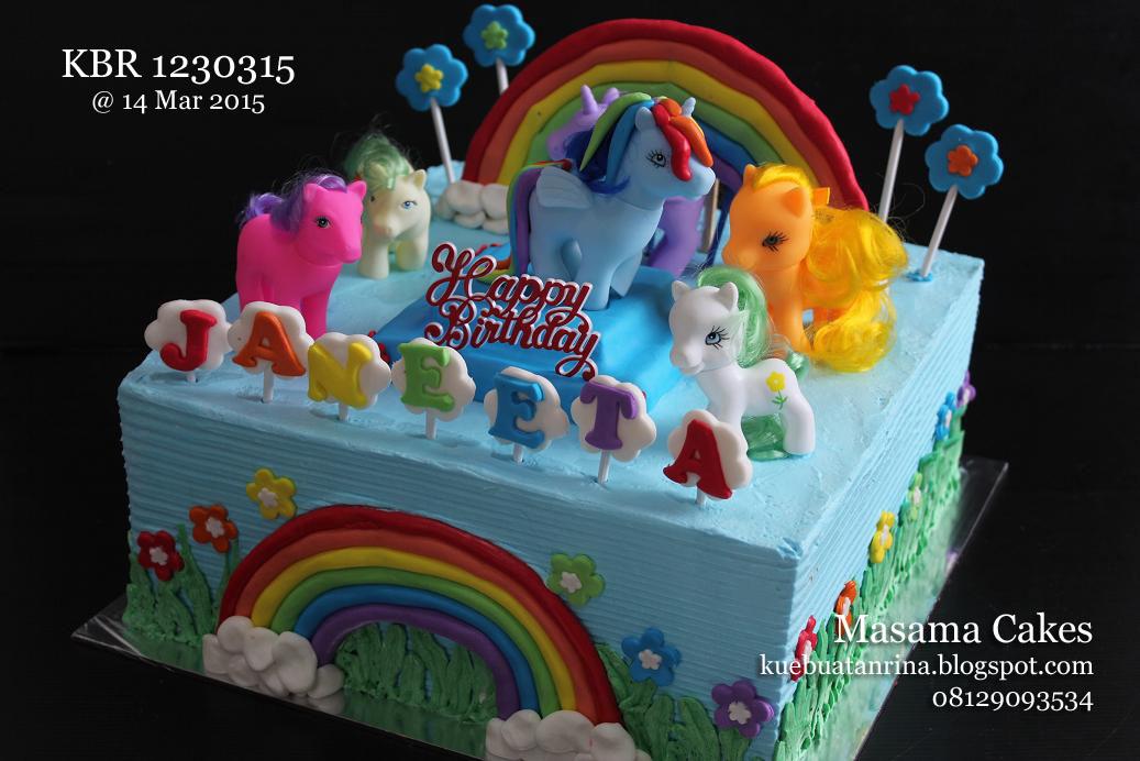 Masama Cakes Little Pony Birthday Cake For Janeeta
