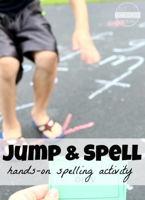 fun spelling activity for kids