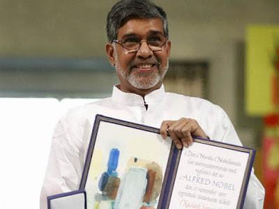 नोबल शांति पुरस्कार विजेता कैलाश सत्यार्थी को पी सी चंद्रा पुरस्कार 2017 से सम्मानित किया गया