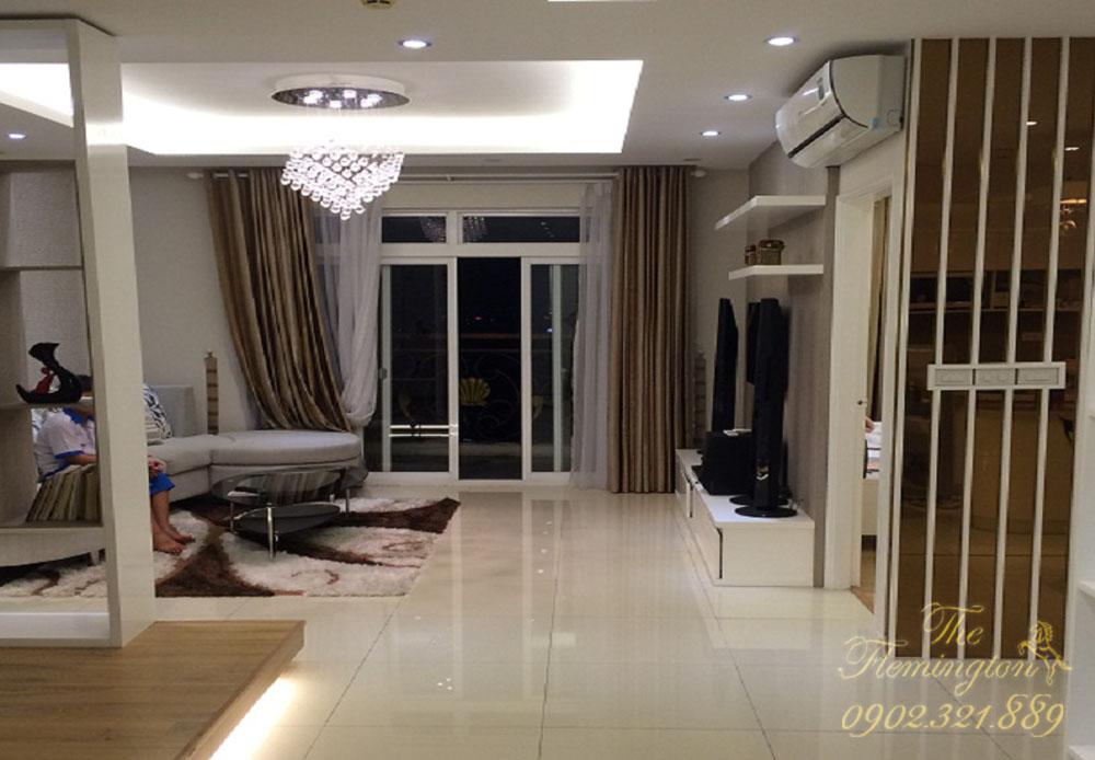 bán nhiều căn hộ flemington quận 11 - phòng khách căn hộ 117m2