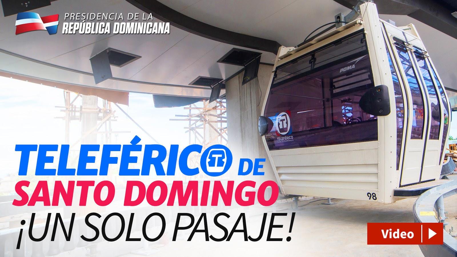 Gobierno destaca impacto social, humano y económico que tendrá el Teleférico Santo Domingo