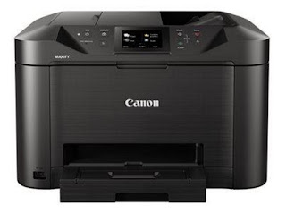H5N1 substantial obligation multifunction shade inkjet printer Canon MAXIFY MB5155 Drivers Download