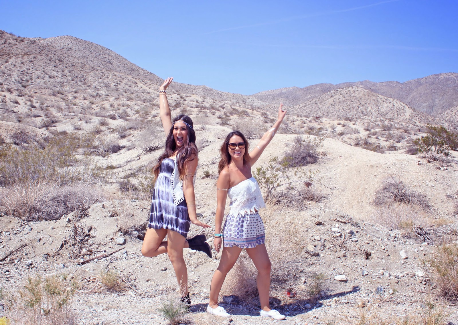 Mash Elle style blogger shares Coachella inspired outfit for festivals in Palm Springs