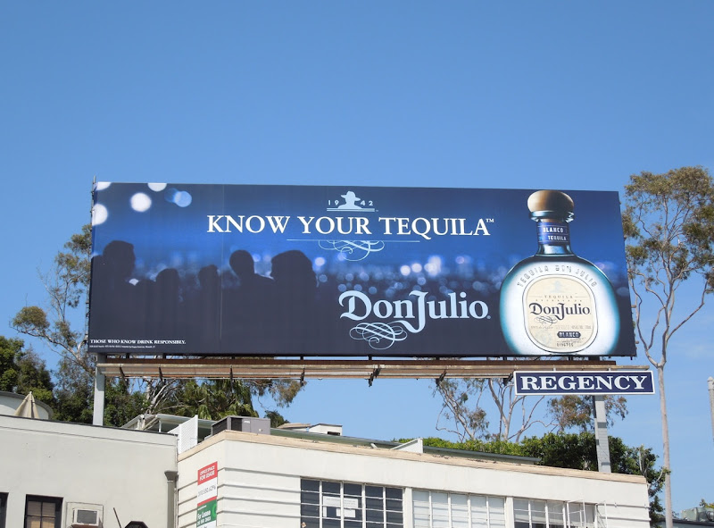 Don Julio Tequila 2012 billboard
