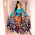 Checkout Emma Nyra's Transparent Ankara Outfit At The 2017 NEA Awards