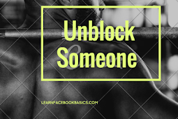 How do I Unblock A Friend On Facebook | Unblock Someone on Facebook - Facebook Unblock