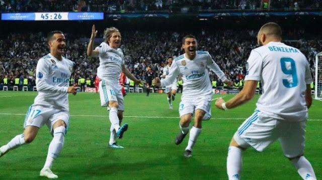 Benzema Berhasil Mencetak Dua Gol Untuk Madrid Di Semifinal
