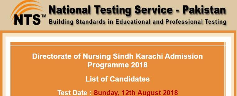 Directorate of Nursing Sindh Karachi
