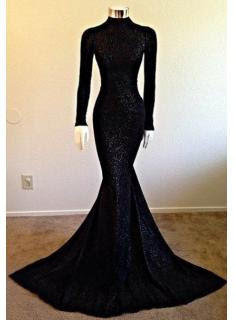 http://www.babyonlinedress.com/g/long-sleeve-mermaid-high-neck-modest-black-prom-dress-108281.html