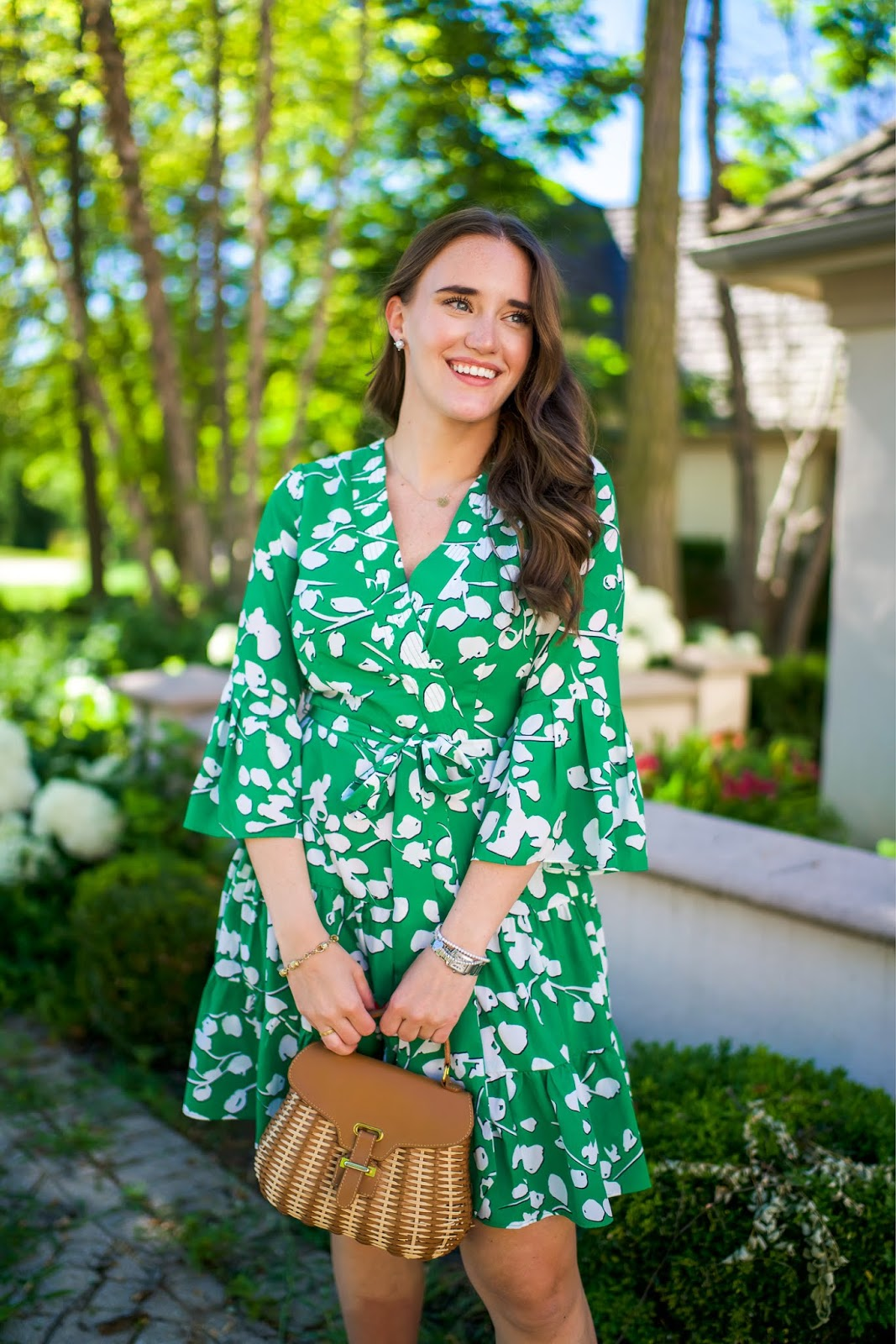 Eliza J Dress for Work featured by popular New York fashion blogger, Covering the Bases