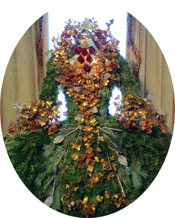 Victorian Christmas Decorations: The Dusty Victorian: Christmas Decoration 2015, Completed